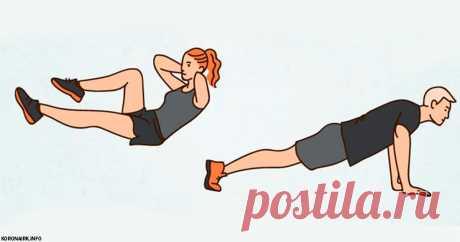Японские упражнения на 4 минуты, которые подарят вам стальной живот