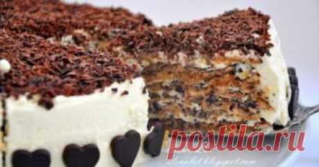 La torta italiana de nuez Quiero proponer a su atención en absoluto difícil, pero la torta fabulosamente sabrosa de nuez. Para mí al día de hoy, probable, él vku...