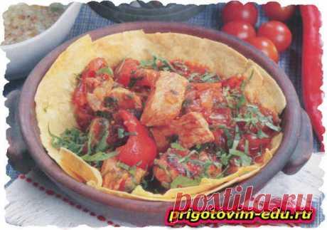 Грузинское мясное блюдо чашушули 🥣. Кулинарные рецепты с фото и видео