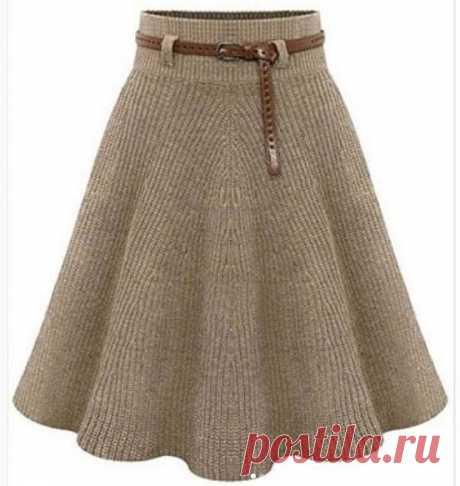 Симпатичная модель женской юбки, на спицах 3 мм по кругу из тонкой смесовой пряжи. Вязание юбки начинается от верхнего края узором английская резинка с равномерными прибавлениями по ходу вязания до конца изделия. Юбка из коллекции   Материалы  Пряжа DROPS NORD (45% альпака, 30% полиамид, 25% шерсть, 50 г/170 м) 5-6-7-7-8-9 мотков цвета 19, спицы круговые 2.5 мм и 3 мм, рези...