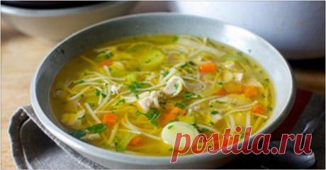 Куриный суп с секретом. Оторваться невозможно!
