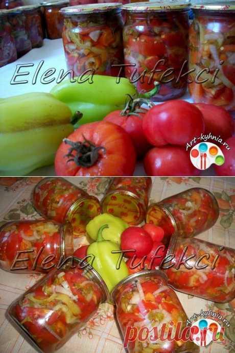 Салат-желе из помидоров на зиму