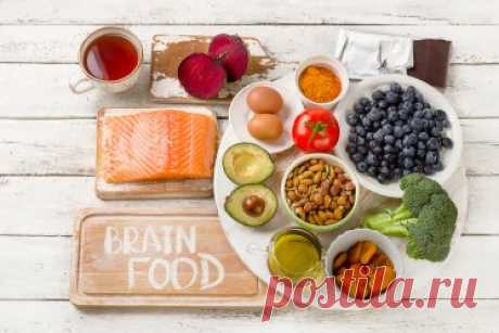 Продукты, которые едят неврологи для здоровья мозга