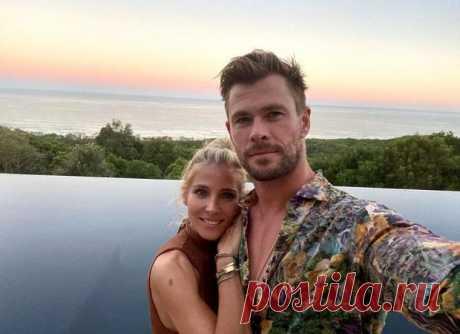 44-летняя жена Криса Хемсворта выглядит на 25: новое видео Эльзы Патаки восхитило фанатов
