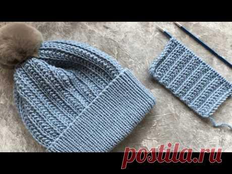 ШИКАРНЫЙ, ПЛОТНЫЙ УЗОР ДЛЯ ШАПОК, СНУДОВ, КАРДИГАНОВ!knittingpatterns