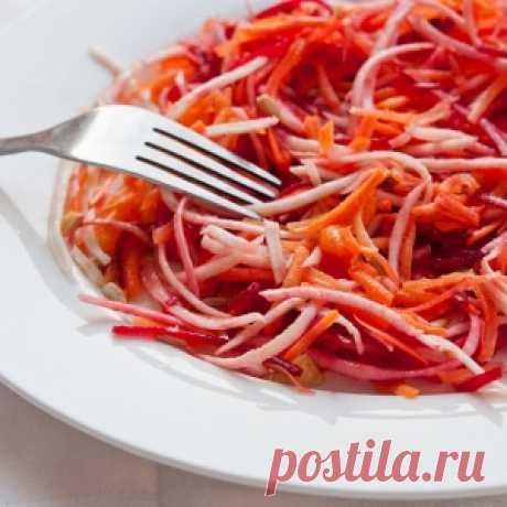 5 рецептов питательных салатов с морковью Читать далее...