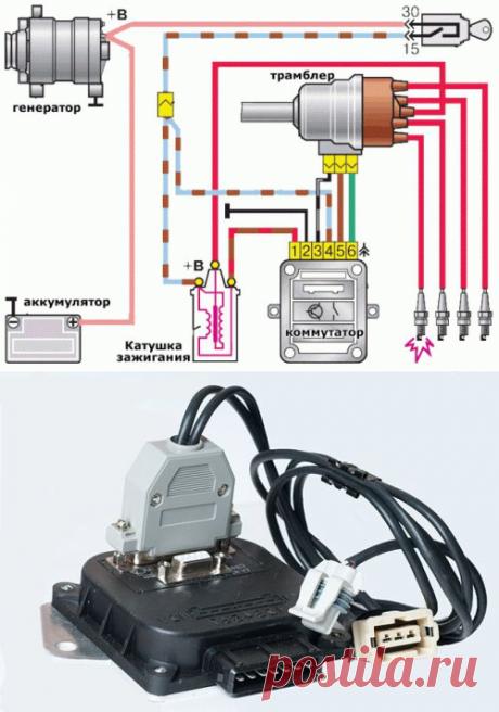 Микропроцессорная система зажигания на классику  .htmlпроверка и замена коммутатора на автомобиле ваз 2108, ваз 2109, ваз 21099