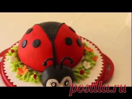 """La torta \""""la Mariquita poshagovo\""""\/Torte \""""Marienkäfer\"""""""