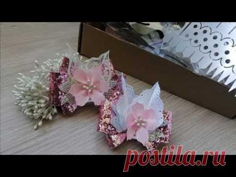 Новые шаблоны/МК нежных бантиков/ Hand Made Ribbon Flowers