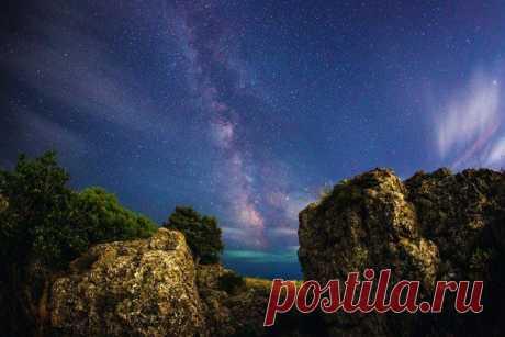 Ночное  небо Крыма...