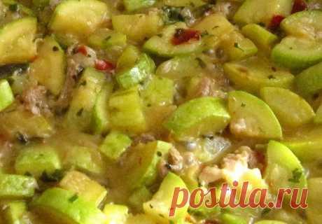 Овощное рагу с курицей, картофелеми грибами рецепт – основные блюда
