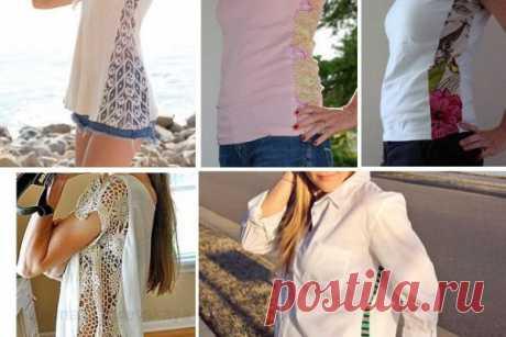 Как расширить одежду: варианты и идеи для реализации… – БУДЬ В ТЕМЕ