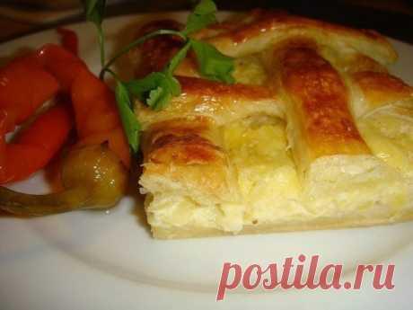 Сытный и вкусны пирог с картофелем и сыром — муж влюбится снова! - Все для Вас!