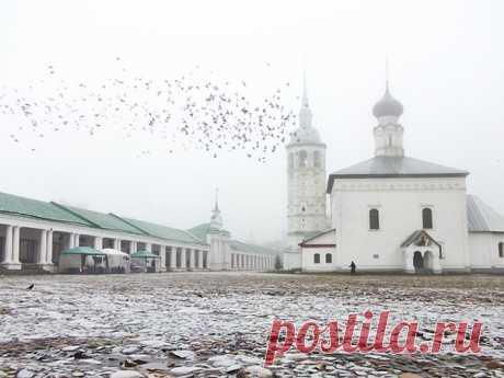 «Безмятежность». Воскресенская церковь в Суздале