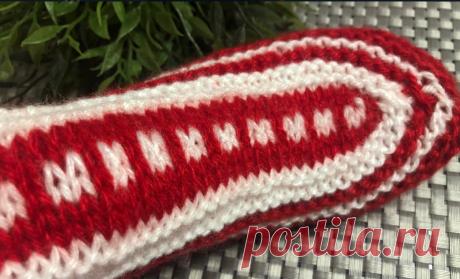 Поперёк проще и лучше, новый способ вязания носков. Носки-исландцы, техника поперечного вязания | Вязание и Рукоделие | Яндекс Дзен