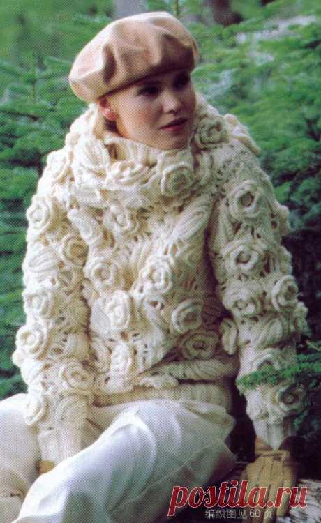 ОНЛАЙН - Белые розы в китайском саду