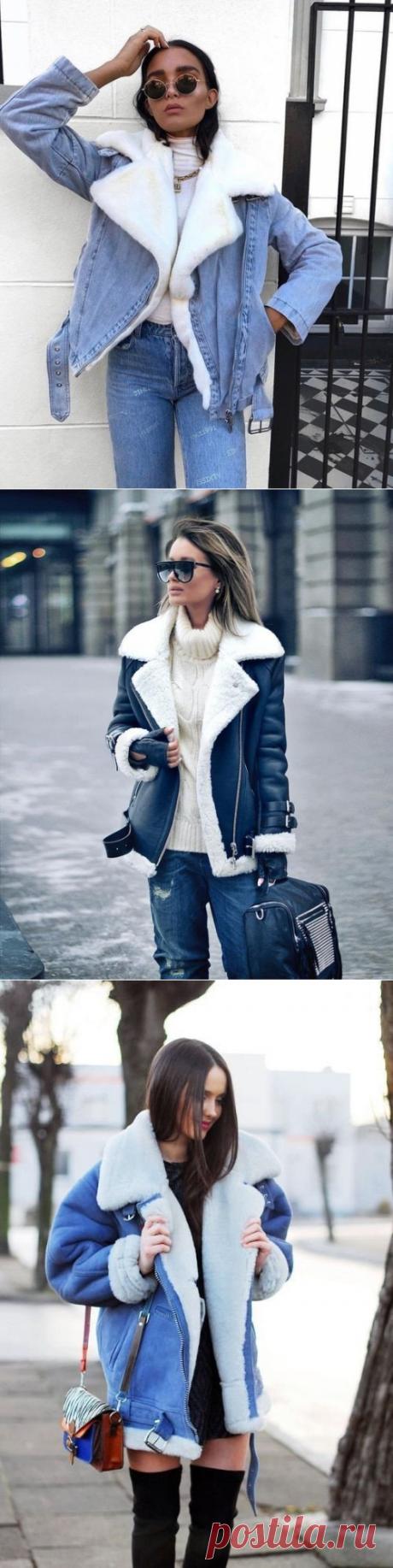 Стильные дубленочки — Красота и мода