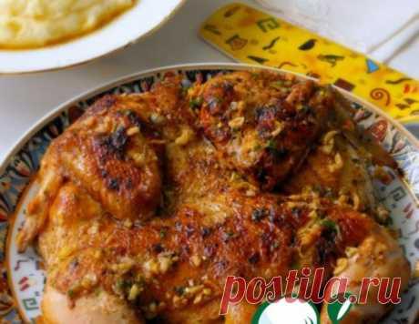 Курица по-аджарски – кулинарный рецепт