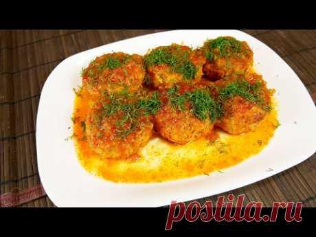 Тефтели в томатном соусе | Без риса и яиц
