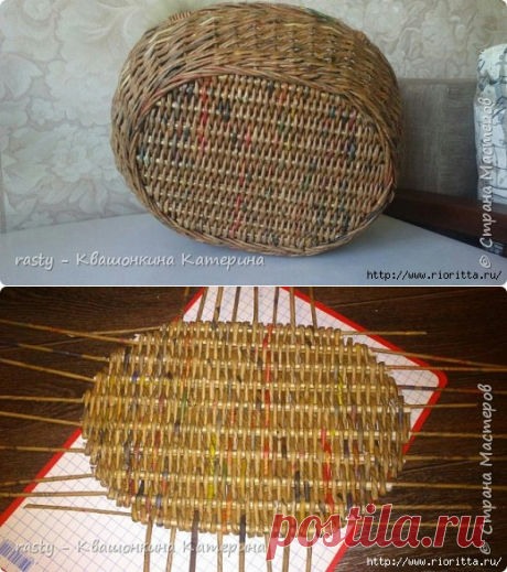 strong wattled bottom for working baskets