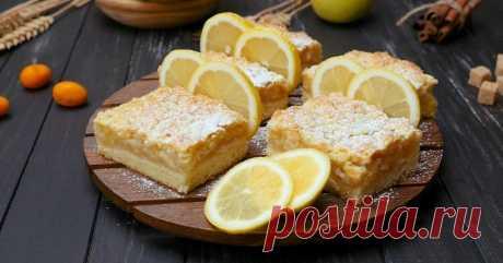 Лимонный пирог от Ирины Аллегровой - Со Вкусом