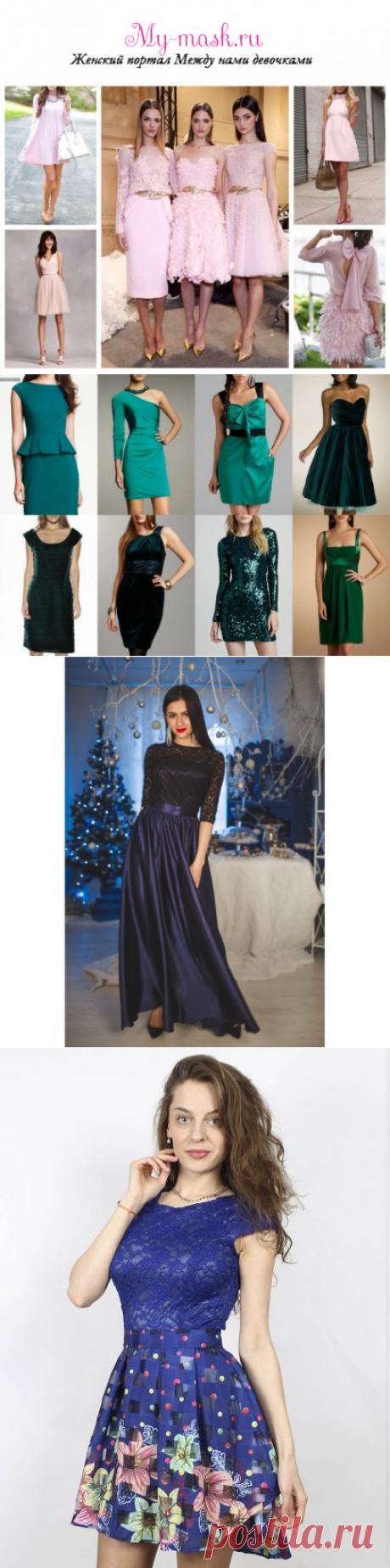 Какое платье надеть на Новый год 2019: цветовая гамма, фасоны, какая ткань лучше