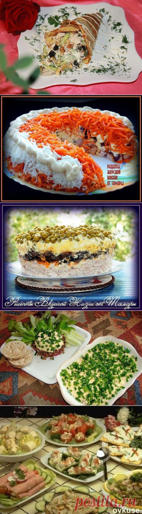 Тор - 10 вкуснейших мясных салатов - Простые рецепты Овкусе.ру