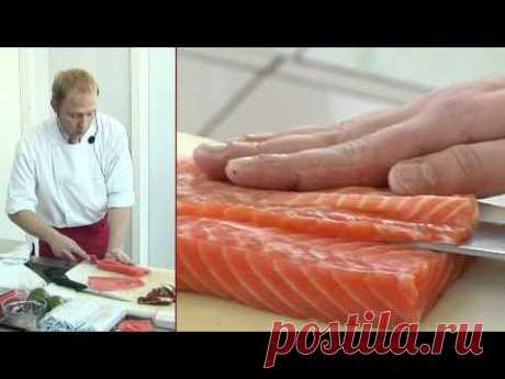 Как приготовить суши - YouTube