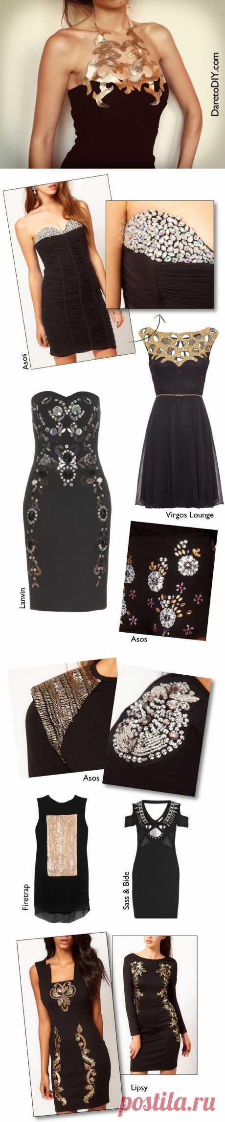 Преображения маленького черного платья (DIY*13) / Платья Diy / Модный сайт о стильной переделке одежды и интерьера