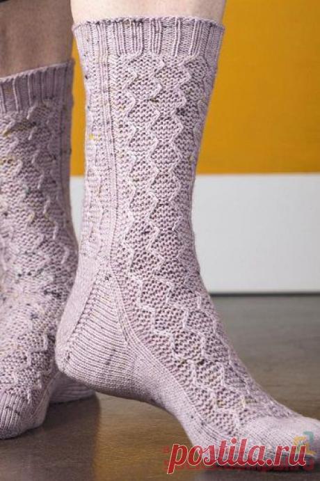Вязаные носки «Saunter» — HandMade