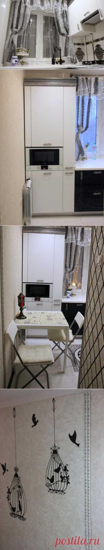 История одной кухни площадью 5,6 кв м.
