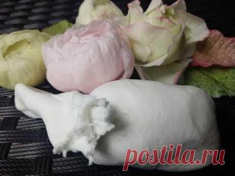 Секрет гибкого Холодного Фарфора МК от Риты:)) The Secret of Flexible Cold Porcelain by Rita