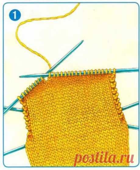 Общие правила вязания носков: прямая пятка