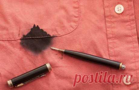 Как отстирать ручку с одежды? Способы, проверенные временем! - Женский журнал LadySpecial.ru