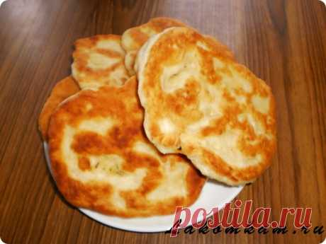 Хлебные лепешки на сковороде   Короткие рецепты   Яндекс Дзен