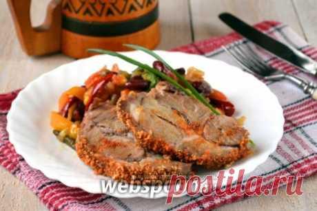 Свиная шейка, запеченная в горчично-пивной заливке с фото | Рецепт запеченной свинины в духовке на Webspoon.ru