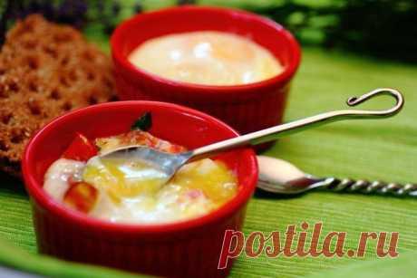 Яйца кокот для удивительного завтрака (2 варианта).