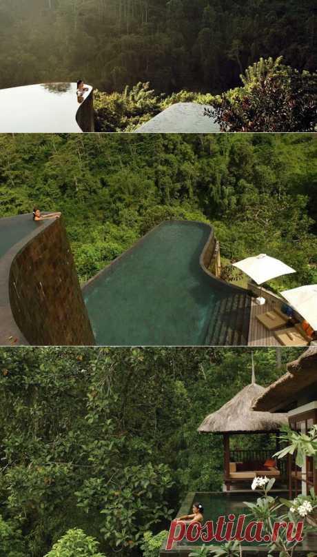 Ubud Hanging Gardens Бали, Индонезия./ InVkus: Самые необычные бассейны (с картинками)