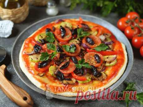 Веганская пицца