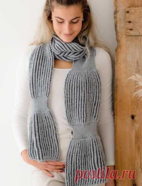 Вязаный шарф Montbrun