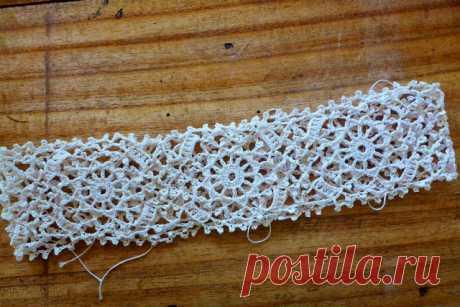 Crochetology by Fatima: Irish Crochet Bebe Lace Motif (Dress)