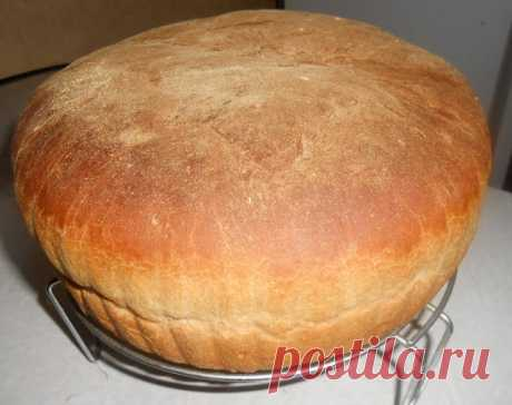 The recipe of home-made bread - is checked not by one generation! Tasty and with a crisp! Believe, more nothing needs to be added! The most tasty bread!