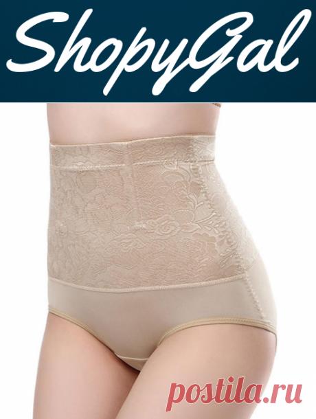 Seamless High Waist Hip Lifting Abdomen Shaping Breathable Shapewear | ShopyGal.com