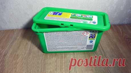 Не спешите выбрасывать контейнер из-под порошка, из него можно сделать полезную вещь для кухни | Мастер Сергеич | Яндекс Дзен