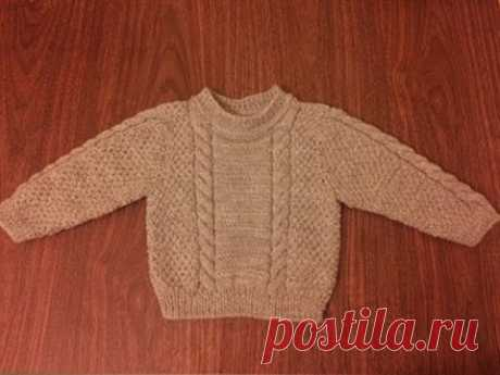 Sweater for the boy spokes 3, 4, 5 years | LS