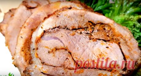 Мясо с апельсином — прекрасная закуска к праздничному столу