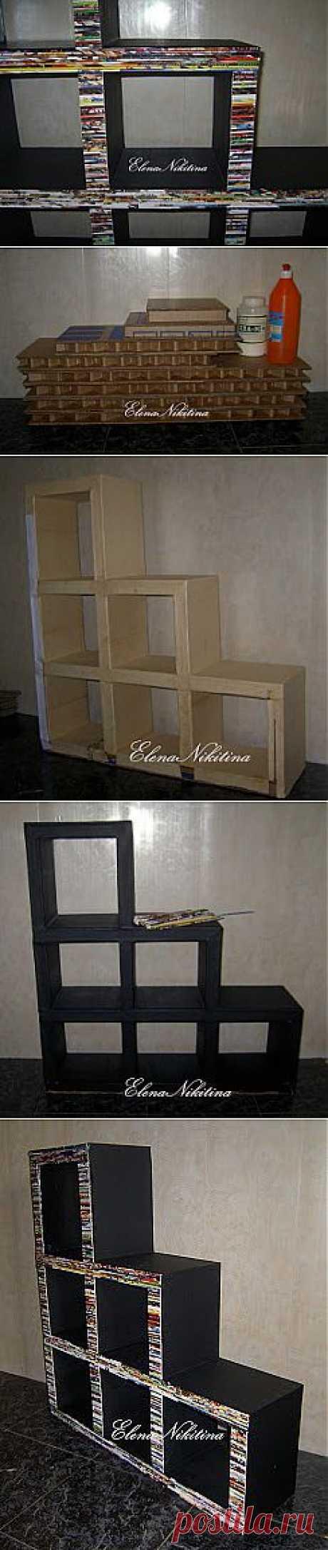полка-стеллаж из... картона - Ярмарка Мастеров - ручная работа, handmade