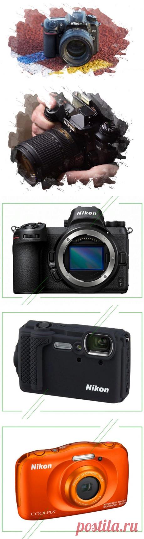 ТОП-7 лучших фотоаппаратов Nikon