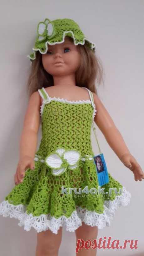 El vestido tejido para la muchacha por el gancho. 203 esquemas de la labor de punto de los vestidos elegantes para la muchacha de las edades diferentes. - la página 3