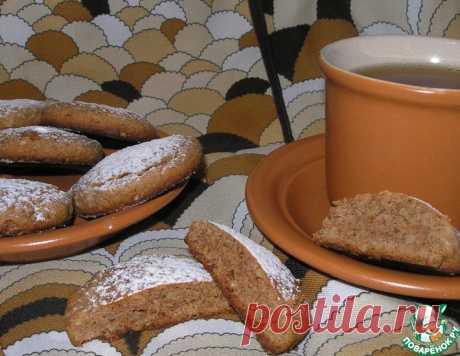 Медово-ореховое печенье – кулинарный рецепт